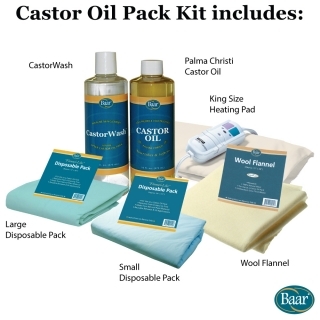 Castor Oil Pack Starter Kit