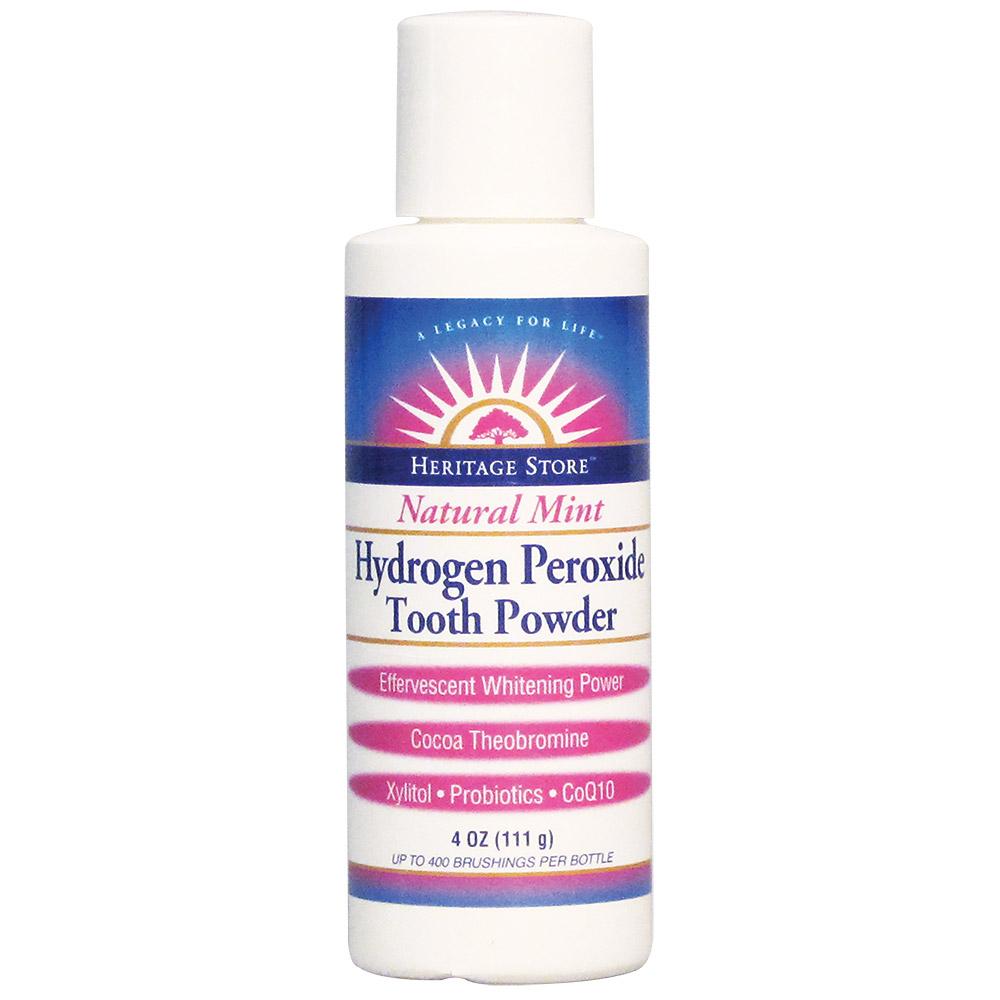 Hydrogen Peroxide Tooth Powder 4 Oz