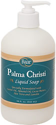 Palma Christi Liquid Soap enriched with Castor Oil, Vitamin E, Almond and Aloe for soft, glowing skin product 10007
