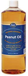 Baar's Expeller, Cold-Pressed Peanut Oil, Quart size