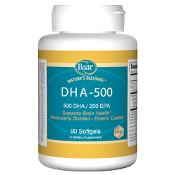 DHA-500, for a healthy heart