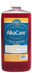 AlkaCare mouthwash and gargle for healthy teeth