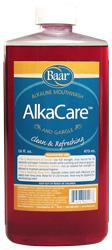 Image of Baar's AlkaCare, a natural pH balance mouthwash