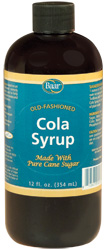 Cane Sugar Cola Syrup, 12 oz.