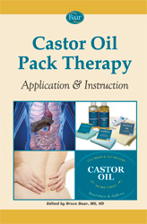 Castor Oil Pack Therapy with application and instructions for use