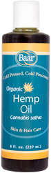 Hemp Oil, Organic, 8 fl. oz.