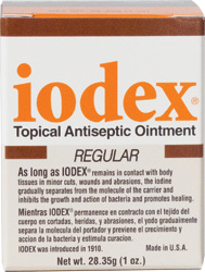 Iodex, Topical Antiseptic Iodine First Aid Ointment