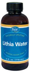 Baar Lithia Water, 4 fluid ounces