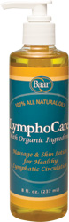 LymphoCare Massage Lotion for Healthy Lymphatic System Circulation