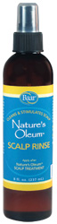 Nature's Oleum Scalp Rinse to clean and stimulate the scalp, use after Nature's Oleum Scalp Treatment