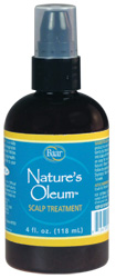 Nature's Oleum Scalp Treatment adds body, conditions and moisturizes your hair through exfoliating and conditioning the scalp.