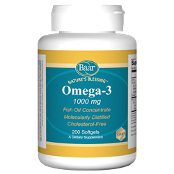 Nature's Blessing Omega-3 Softgels for a Healthy Heart
