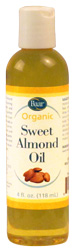 Sweet Almond Oil, Organic - 4 oz.