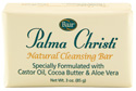 Palma Christi natural cleansing bar soap for daily use with softening moisturizing properties of castor oil three pack product number 10006
