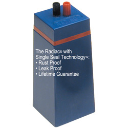 The Radiac with Single Seal Technology is Rust Proof, Leak Proof, and has a Lifetime Guarantee