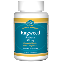 Ragweed Capsules, 420 mg
