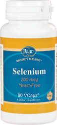 Selenium Capsules, Dietary Supplement for eye health