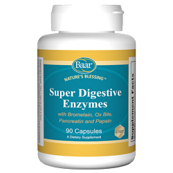 Super Digestive Enzymes Capsules support healthy digestive and lymphatic systems.