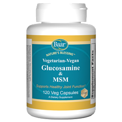Vegetarian Glucosamine with MSM, 120 VCaps