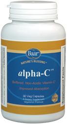 alpha-C, Vitamin C Capsules