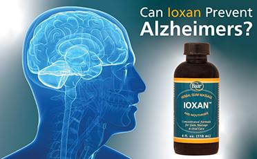 Can Ioxan™ Prevent Alzheimer's?