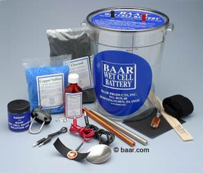 Baar Wet Cell Battery Starter Kit